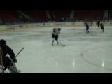 В хоккей играют настоящие диффчёнки! Тренировка  02.10.2013